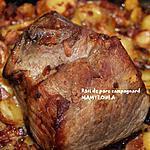 recette Rôti de porc campagnard