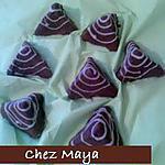 recette des pyramides à la farine grillée