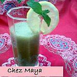 recette jus de citron à la menthe et au miel