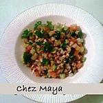 recette salade de lentilles germées