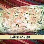 recette Baguette au poivron vert et au romarin séché