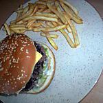 recette hamburger frite