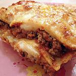 recette Lasagnes traditionnels à la bolognaise
