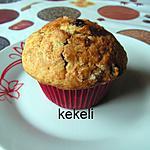 recette Muffins américain aux raisins secs