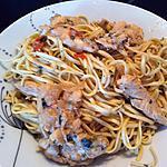 recette Aiguillettes de poulet thai aux vermicelles