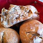 recette Petits pains de campagne au thermomix