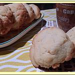 recette Les Helenettes, biscuits moelleux aux jaunes d'oeufs