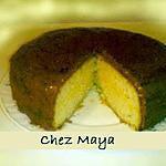 recette tarte facile goût cacao , abricot