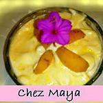recette Mousse glacée à l'abricot