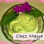 recette Crème glacée sans sorbetière parfumée à la menthe