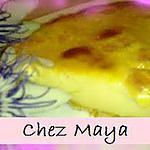 recette tarte au flan goût abricot
