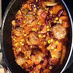 recette Boulettes de boeuf aux légumes, façon chili con carné