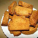 recette Biscottes aux amandes