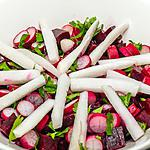 recette Salade de betteraves et radis