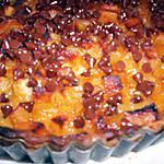 recette Tarte aux pommes flambées