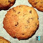 recette Les cookies noisette tonka