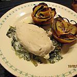 recette Rosace de tartiflette/feuilleté de pommes de terre