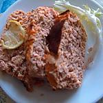 recette Terrine de saumon