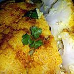 recette Chou-fleur entier rôti au beurre à l'ail et aux épices