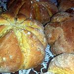 recette Pumpkin bread - Petits pains au potiron