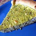 recette Tarte courgettes et féta