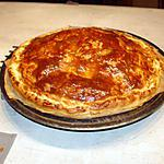 recette Tourte feuilletée au jambon et champignon