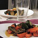 recette Fricassée de légumes