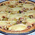 recette Tarte aux poireaux et aux Maroilles