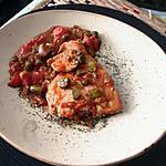 recette assiette  de thon   tomates    cornichons capres  et conserves  de thon