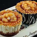 recette Mini Cheesecakes Pommes Caramélisées