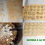 recette RAVIOLE A LA VIANDE