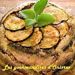 recette Petits flans de courgettes aux sardines fraîches