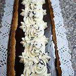 recette Tarte Chocolat Caramel beurre salé chantilly