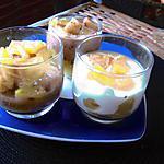 recette verrines ananas  façon tiramisu   idée  trouvée  sur   la cuisine des p   tites crapouillettes