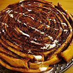 recette Gâteau tourbillon au nutella