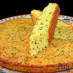 recette Pain au Maïs, Parmesan et Basilic