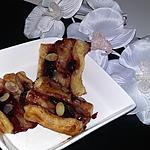recette Viennoiseries confiture de cerise amandes