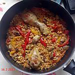 recette Blé au poulet (à la façon d'un risotto )