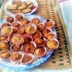 recette financiers a l orange de nathalie  une cuisine pour voozenoo