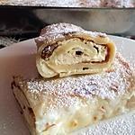recette Crêpes fourrées au fromage blanc et raisins secs- Blynai ( Lituanie )