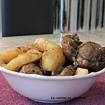 recette Joues de porc confites et pommes de terre