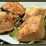 recette Muffins au Jambon et Cheddar