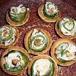 Mini tartelletes au poivron
