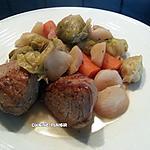 recette Morceaux de pur porc et légumes de saison à l'autocuiseur