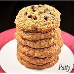 recette Cookies à l'Avoine, Fruits secs, Pécans et Chocolat