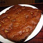 recette Gâteau aux amandes et aux poires à la cannelle