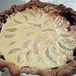 recette Tarte poires - nutella