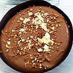 recette Coques de mousse au chocolat mascarpone