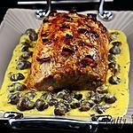 recette Rôti de Porc - Sauce Orange et Safran