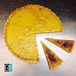 recette La tarte aux pommes façon crème brûlée